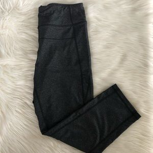 Calvin Klein Gray Crop Workout Leggings - Medium
